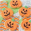Wilton Plastic Jack O' Lantern Halloween Grippy Cookie Cutter Orange - image 3 of 3
