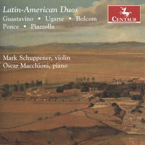 Mark schuppener - Latin american duos (CD) - image 1 of 1