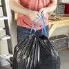 Hefty Strong Multipurpose Large Drawstring Trash Bags - 30 Gallon - image 4 of 4
