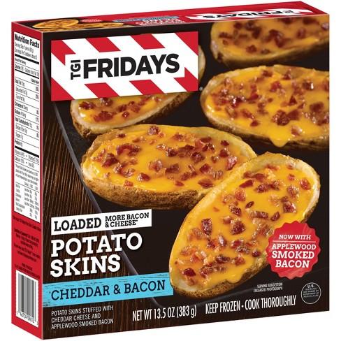 T.G.I. Friday's Loaded Cheddar & Bacon Frozen Potato Skins - 13.5oz - image 1 of 3