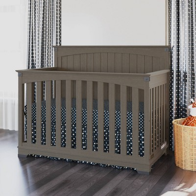 Child Craft Redmond Full Panel Crib - Dapper Gray