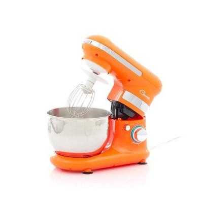 Sencor 4.2qt 6-Speed Stand Mixer - Orange