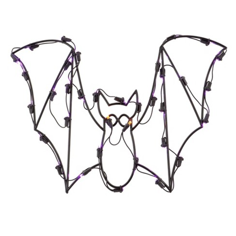 Halloween LED Bat Light Window Decoration - image 1 of 1