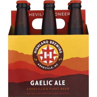 Highland Gaelic Ale Beer - 6pk/12 fl oz Bottles