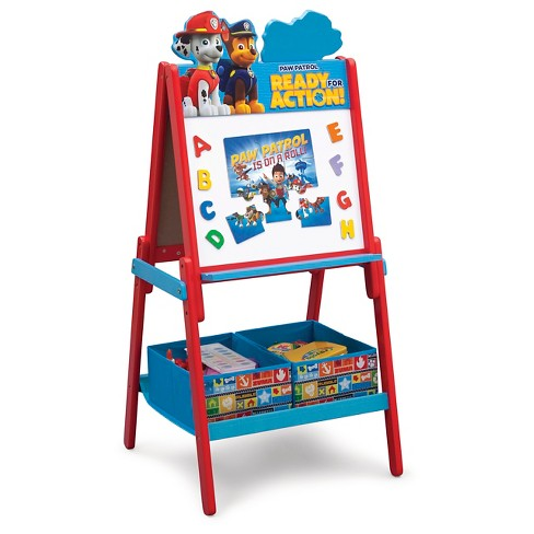 Delta Children Paw Patrol Wooden Double Side – Red - image 1 of 4