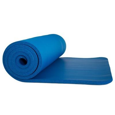 Wakeman Non-Slip Luxury Foam Camping Sleep Mat - Dark Blue