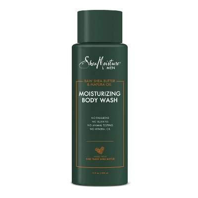 SheaMoisture Moisturizing Body Wash Raw Shea Butter & Mafura Oil - 15 fl oz