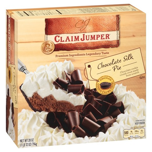 Claim Jumper Chocolate Silk Pie 28oz - image 1 of 1