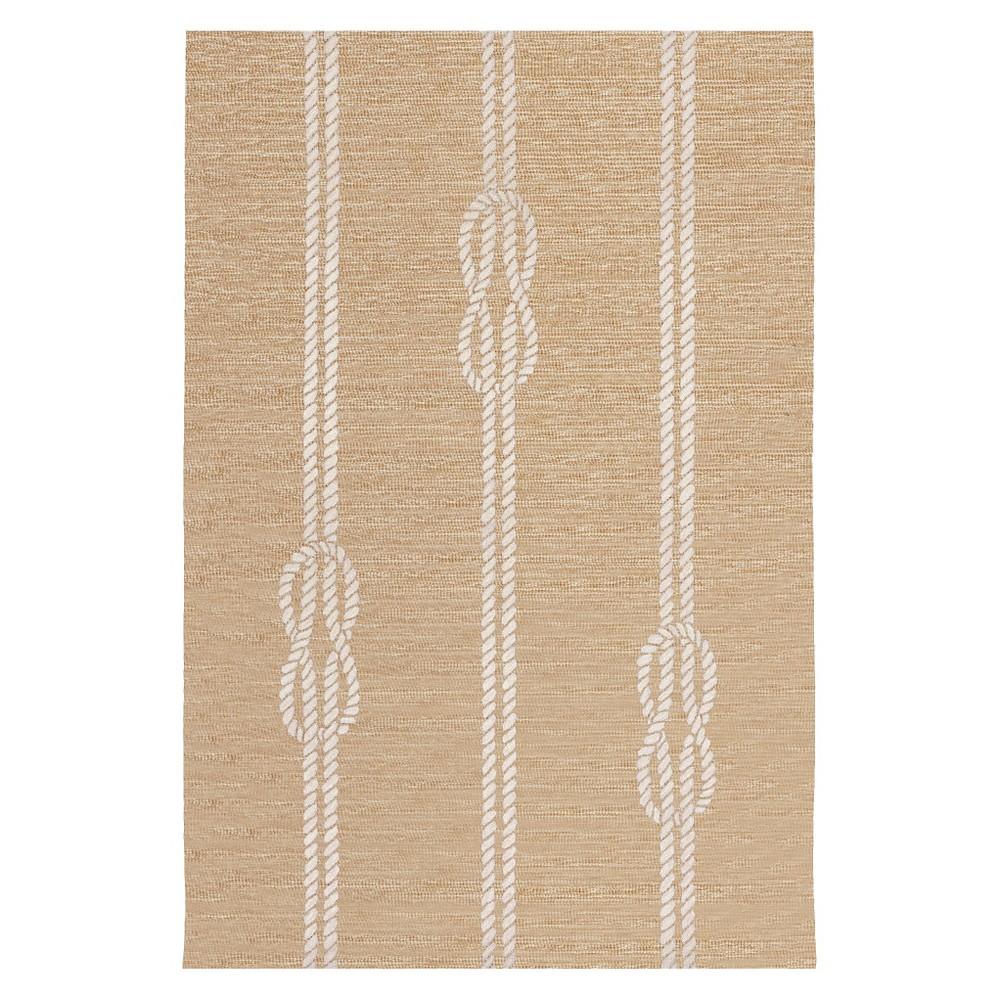 Capri Ropes Rug - Natural - (2'X8' Runner) - Liora Manne, Orange