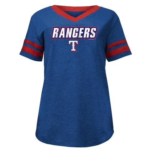 MLB Texas Rangers Women's Pride Heather T-Shirt - image 1 of 1