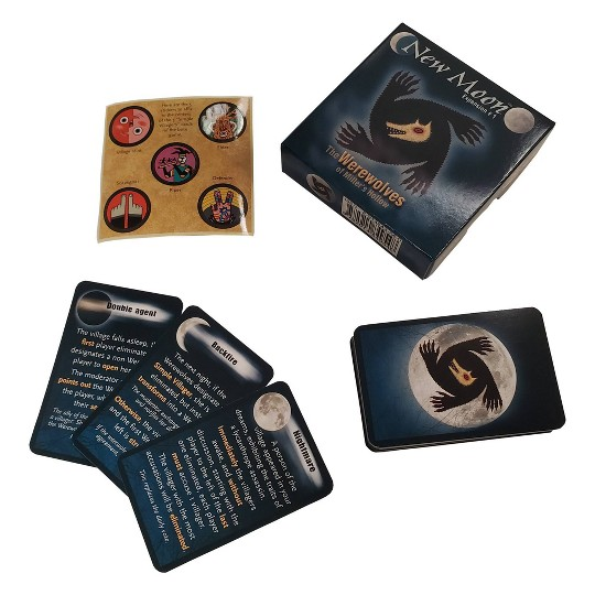 Lui-Meme Studios The Werewolves: New Moon Expansion Game image number null