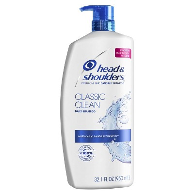Shampoo & Conditioner: Head & Shoulders Classic Clean