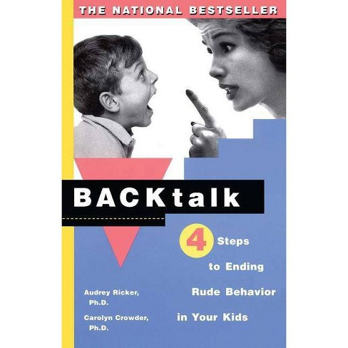 Backtalk - by  Carolyn Crowder & Audrey Ricker (Paperback) - image 1 of 1