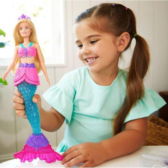 Barbie Dreamtopia Slime Mermaid Doll image number null