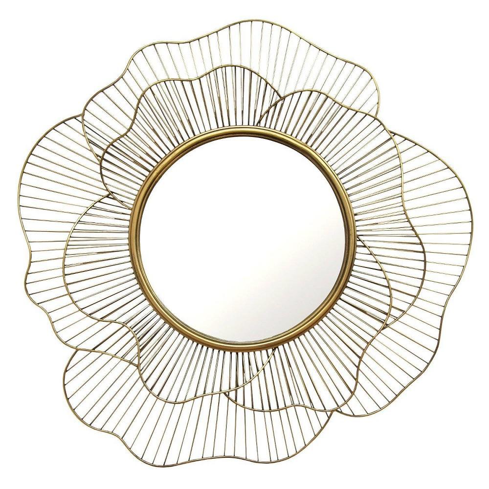 28 25 Stella Wall Mirror Gold Stratton Home Decor Ibt Shop