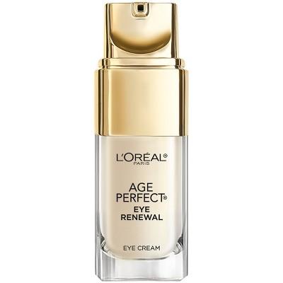 Eye Creams & Masks: L'Oreal Paris Age Perfect Eye Renewal