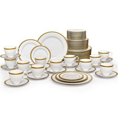 Noritake Charlotta Gold 60-Piece Value Set