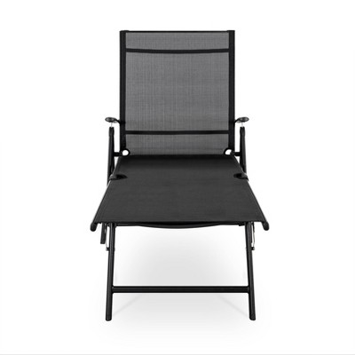 Textilene Single Patio Chaise - NUU GARDEN