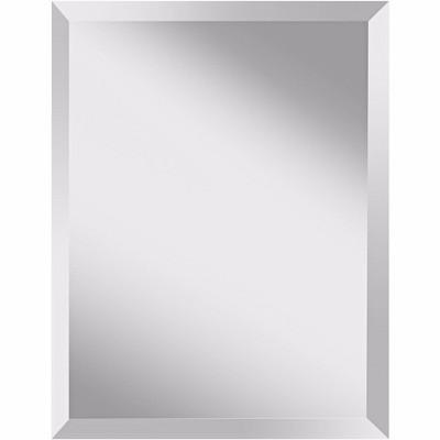 """Feiss Infinity 28"""" High Rectangular Wall Mirror"""