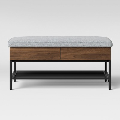 Loring Storage Bench Walnut Brown - Project 62™
