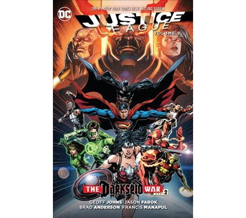 Justice League 8 : Darkseid War (Paperback) (Geoff Johns) - image 1 of 1