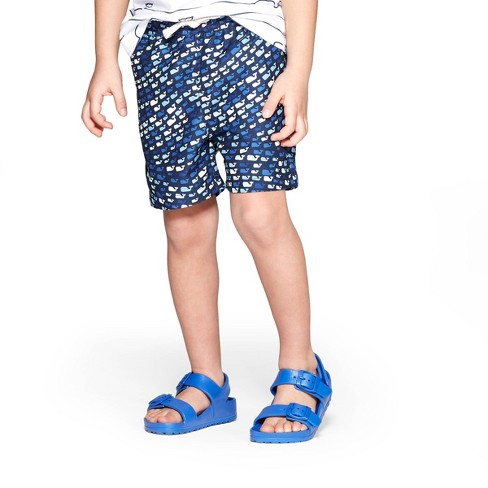 7c17cd1a12 Toddler Boys' School Of Whales Swim Trunks - Blue - Vineyard Vines® For  Target : Target