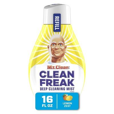 Mr. Clean Deep Cleaning Mist Multi-Surface Spray Refill - Lemon Zest - 16 fl oz