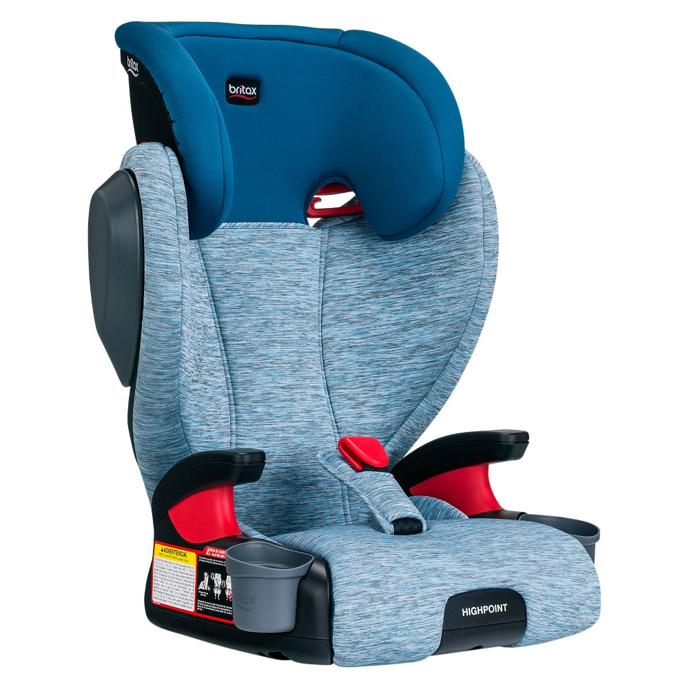Image of Britax Highpoint Belt-Positioning Booster Seat - Seaglass