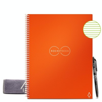 """Core Smart Spiral Reusable Notebook Lined 32 Pages 8.5""""x11"""" - Rocketbook"""