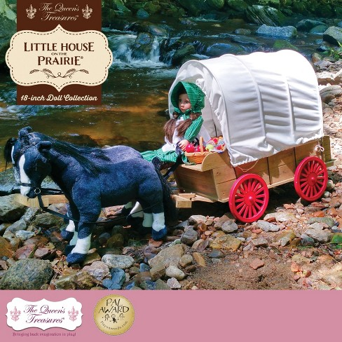 "The Queen's Treasures® Little House on the Prairie 18"" Doll Accessory 1870's Covered Wagon - image 1 of 10"