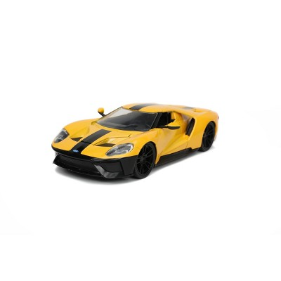 HyperSpec 2017 Ford GT 1:24 Scale Die-Cast Vehicle - Yellow