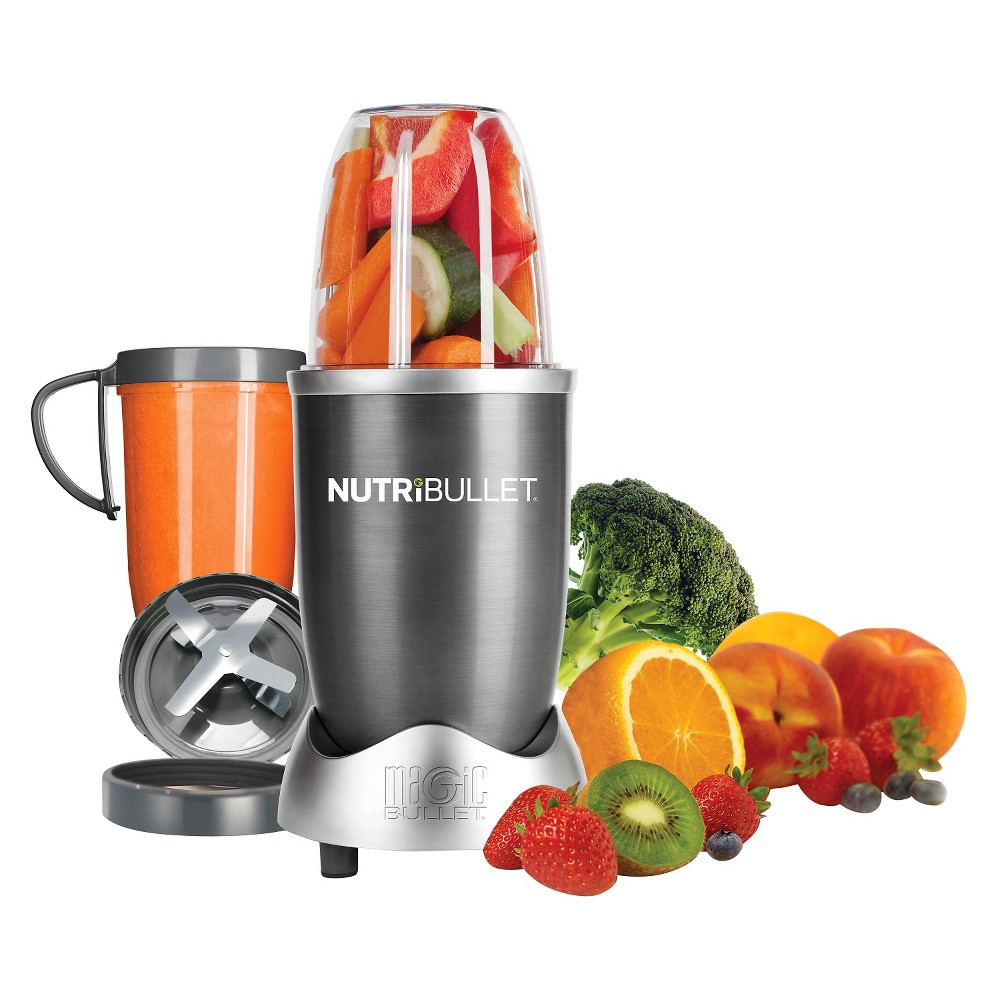 NutriBullet by Magic Bullet 8pc – Silver Nbr-0801 13969043