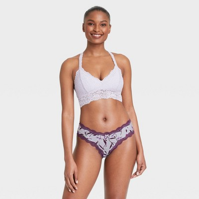 Women's Micro Cheeky Underwear with Lace - Auden™
