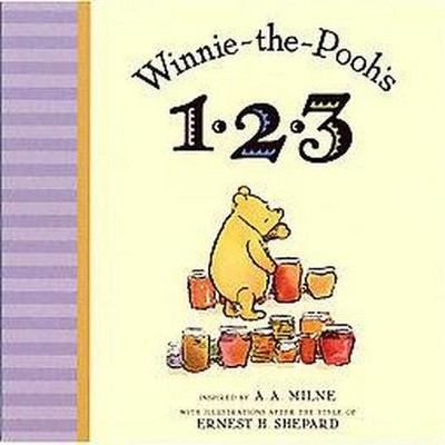 Winnie-The-Pooh's 1, 2, 3 (Board)by A.A. Milne