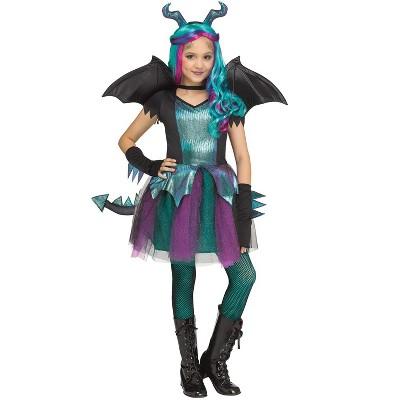 Fun World Dark Dragon Child Costume