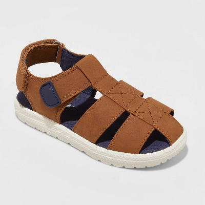 Toddler Boys' Bryson Sandals - Cat & Jack™ Brown