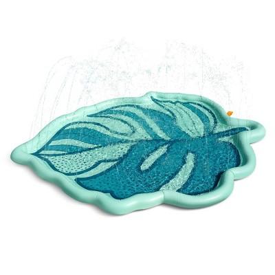 Minnidip Palm Leaf Splash Pad Sprinkler