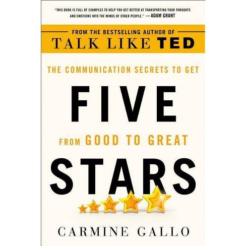 Five Stars - by  Carmine Gallo (Paperback) - image 1 of 1