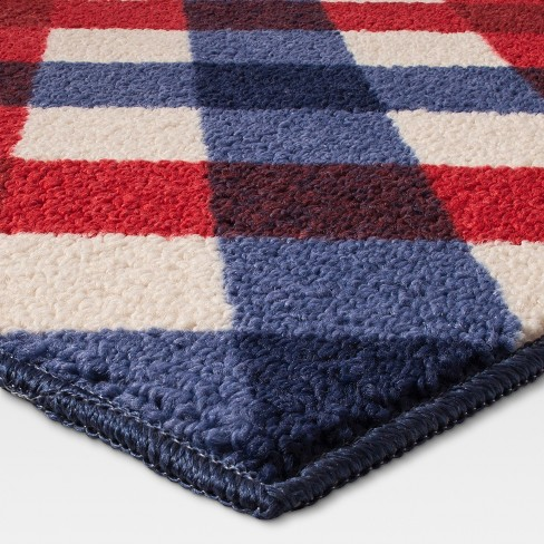 Blue Gingham Rug Area Rug Ideas