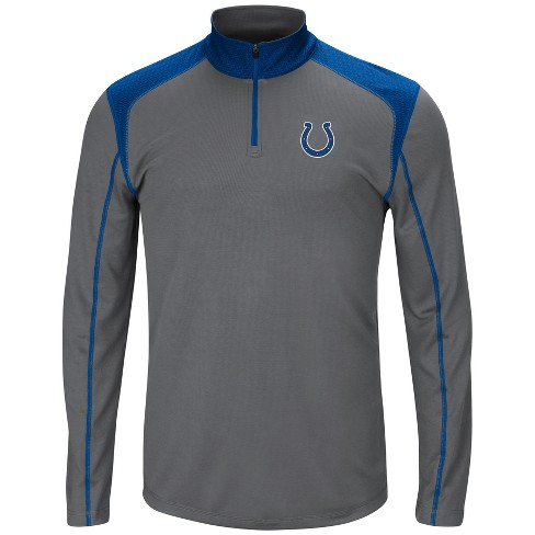 60f7ff91 Indianapolis Colts Men's Classic Victory Quarter Zip Pullover - XXL