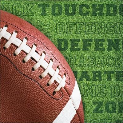 48ct Fall Tailgate Football Napkins