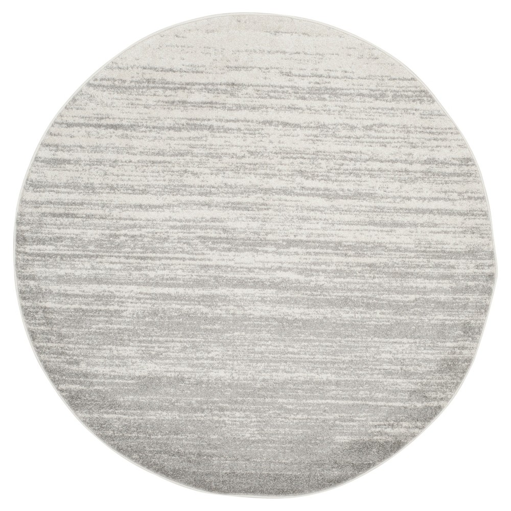 Norris Area Rug - Ivory/Silver (6' Round) - Safavieh