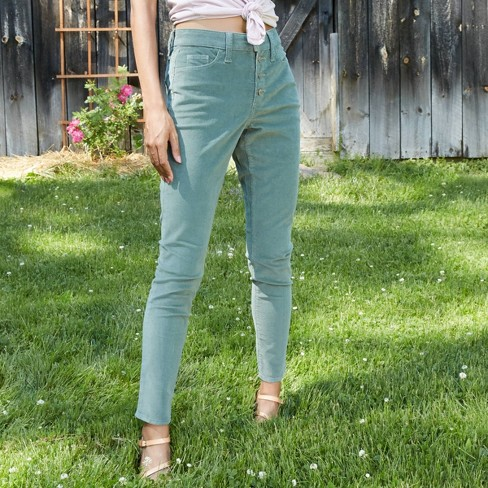 Women's High-Rise Corduroy Skinny Jeans - Universal Thread™ - image 1 of 4