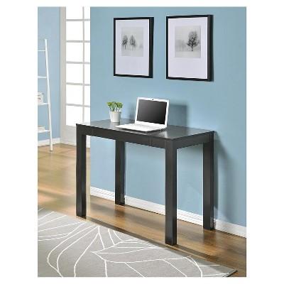 George Wood Writing Desk With Drawers - Room & Joy : Target