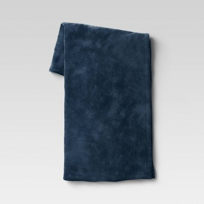 "50""x70"" Oversized Primalush Throw Blanket Blue - Threshold™"