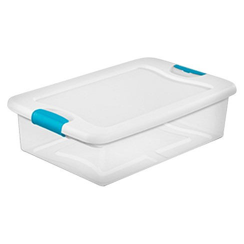 Sterilite 32 Qt Latching Storage Tote - Set of 6 - image 1 of 1