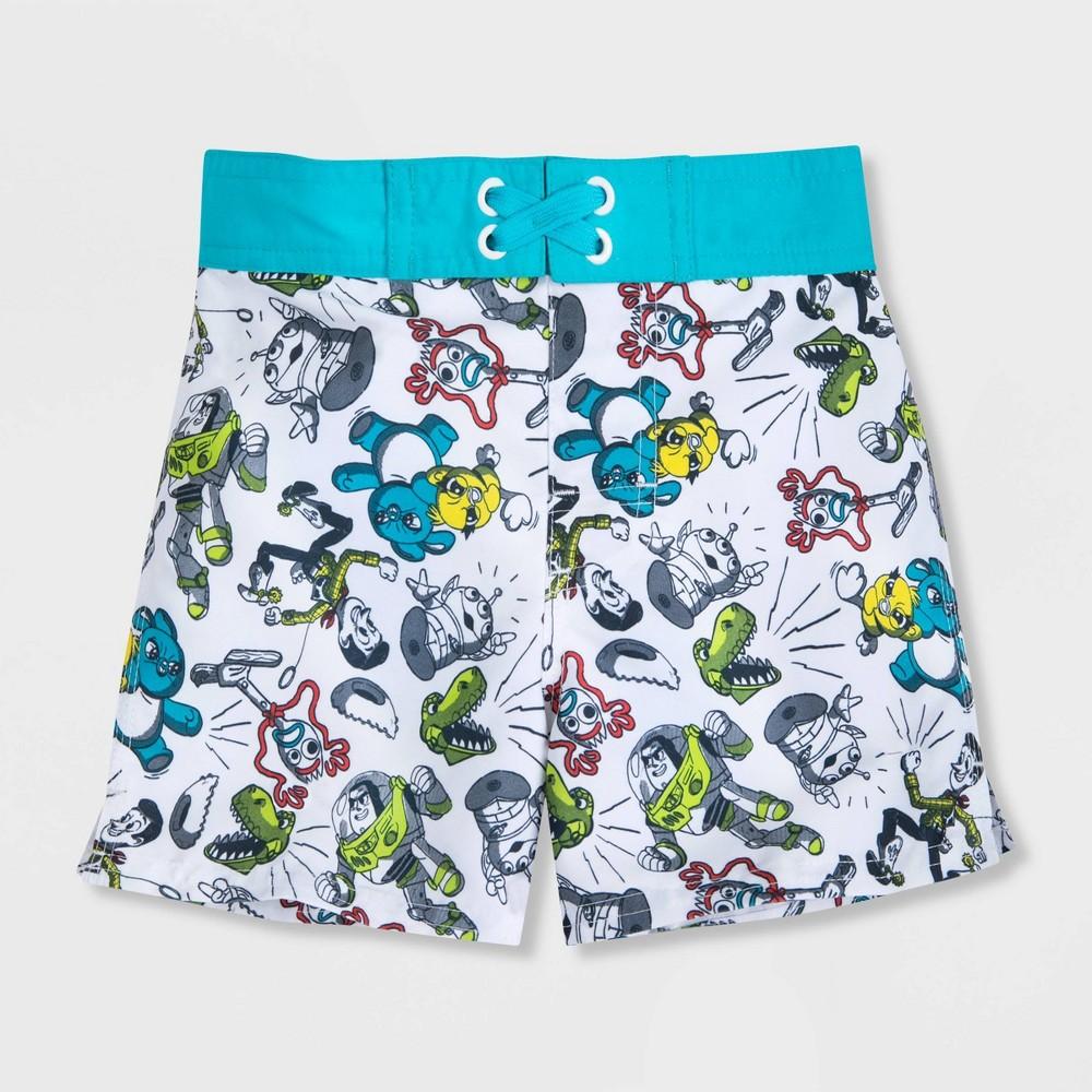 Boys 39 Disney Toy Story Swim Trunks Blue 5 6 Disney Store