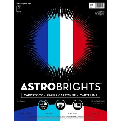 Astrobrights Cardstock Paper 65 lbs 8.5 x 91644