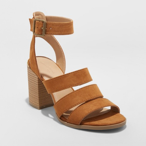 Women's Etta Ankle Strap Sandals - Universal Thread™ - image 1 of 3