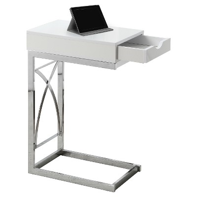 Accent Table with Drawer - White - EveryRoom